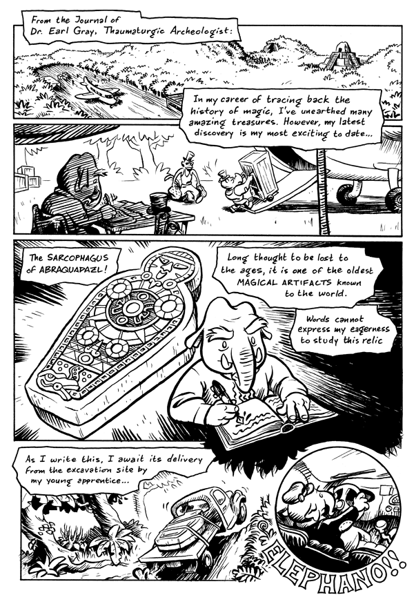 Young Elephano, Page 1